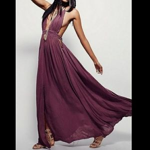 Iso Free People look into the sun maxi dress
